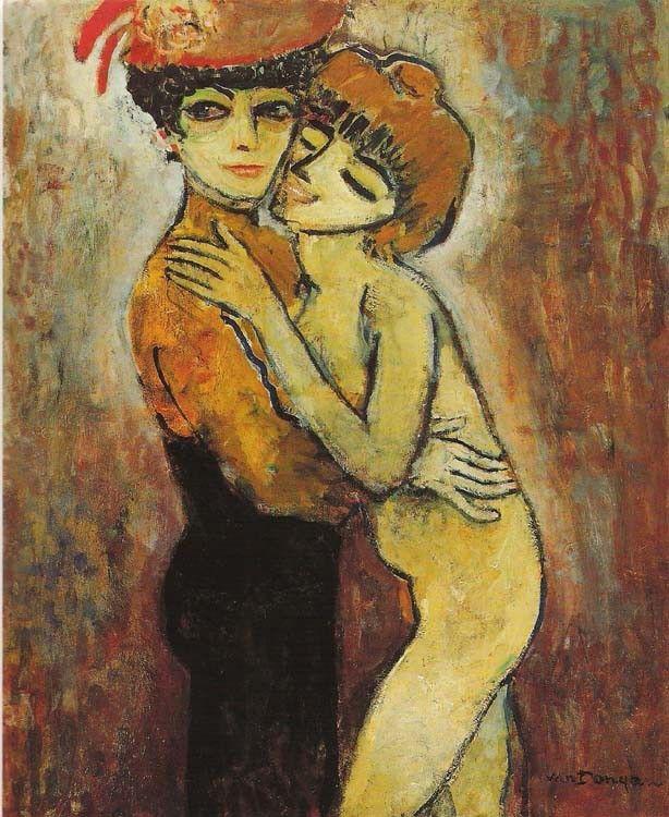 AMIES  by Kees van Dongen, 1908