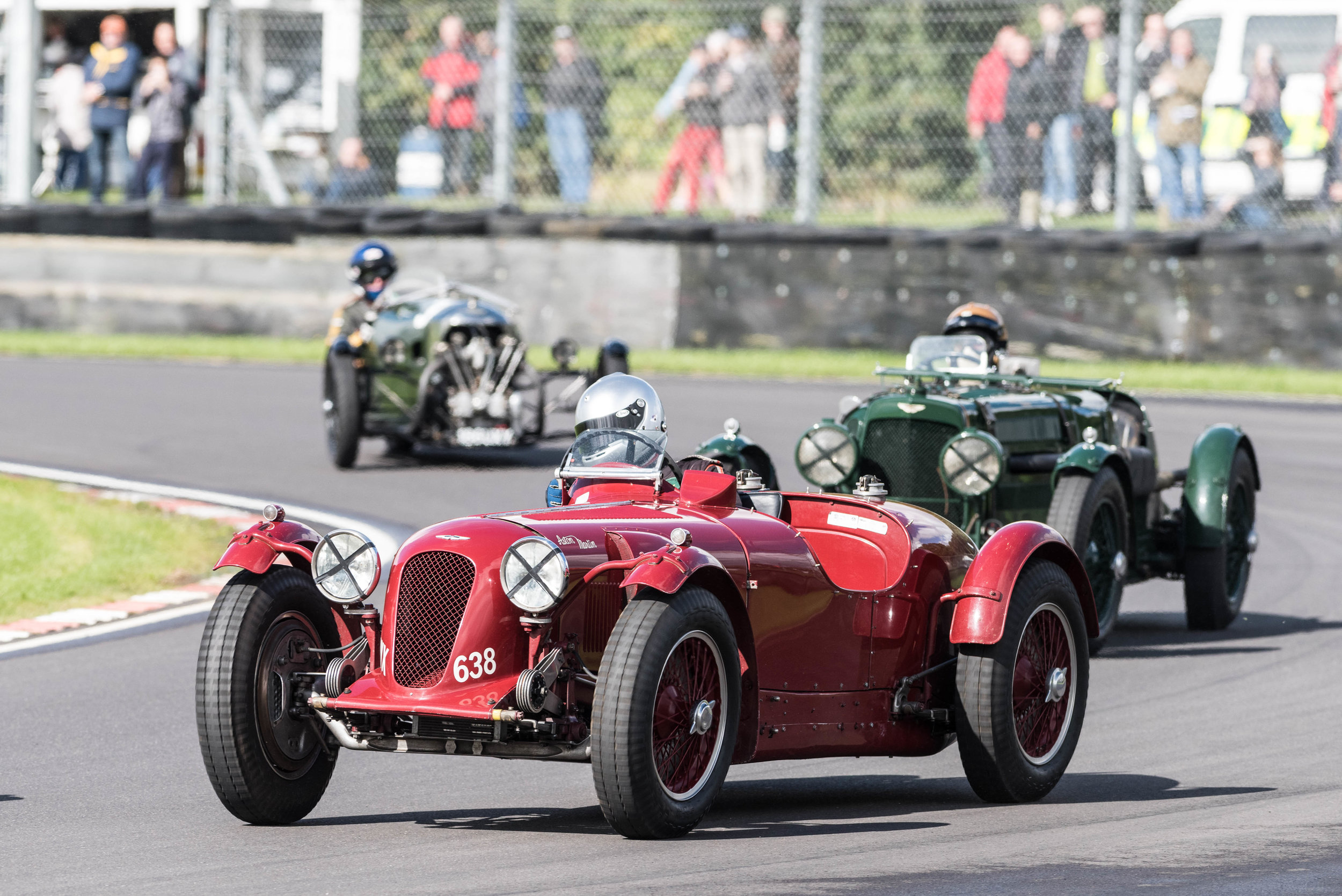 Gillies leads Diffey - Astons Monoposto followed by Ulster - an Edwards in the Morgan Supersports:  Peter McFadyen