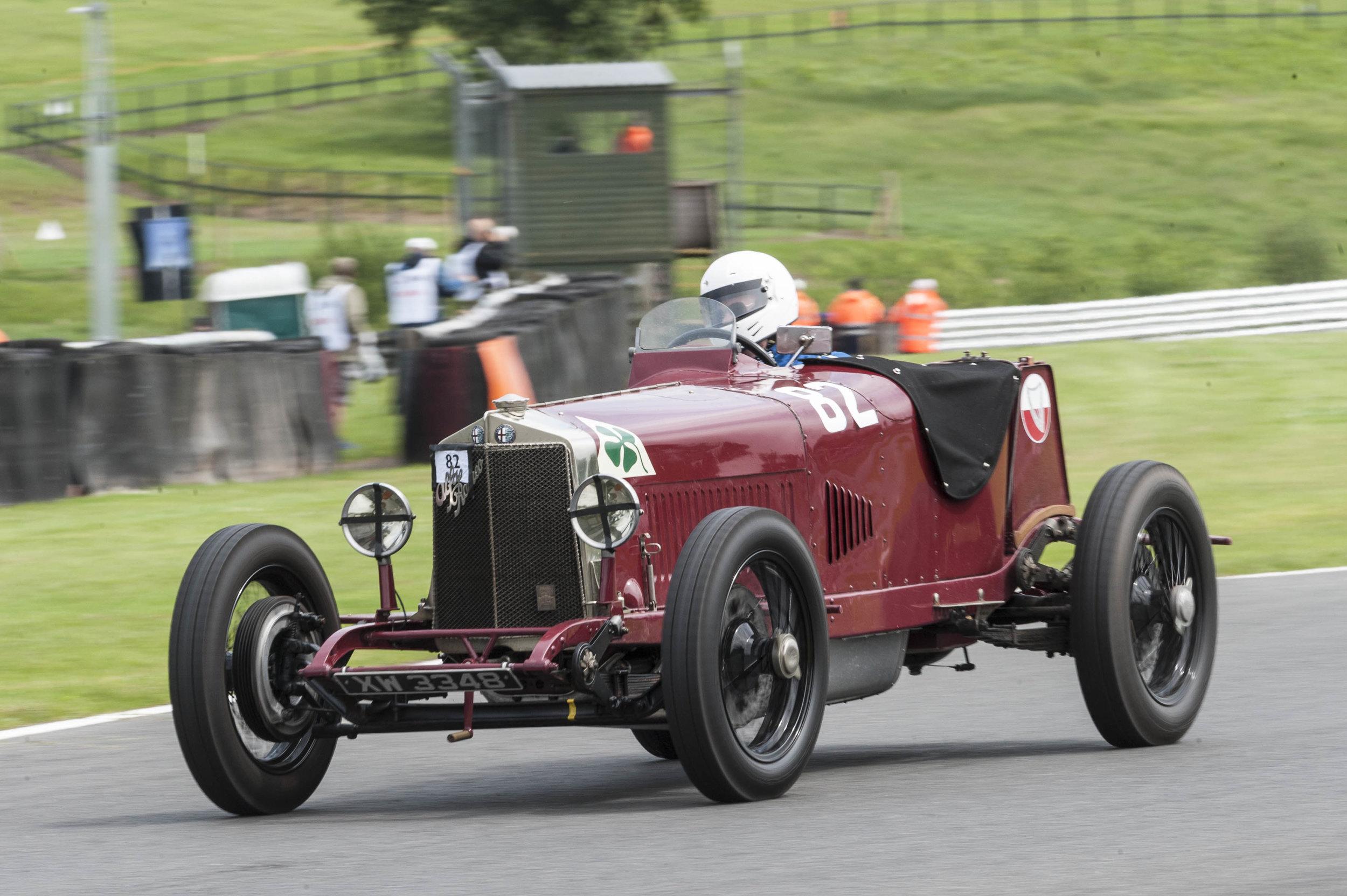 Mann in the 1924 Targo Florio Alfa:  Peter McFadyen