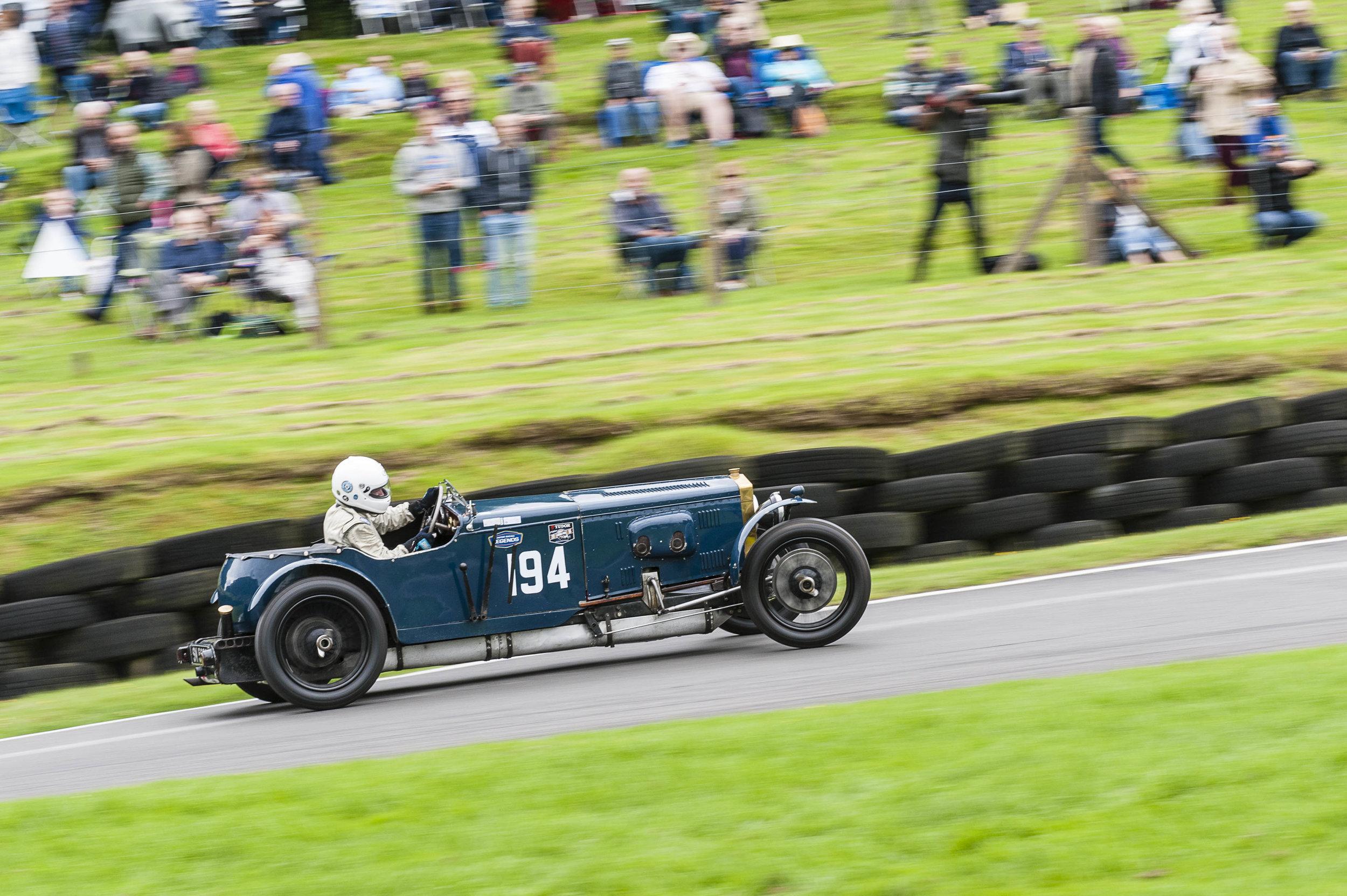 Geoghegan Trophy winner Williams driving Charles Gillett's Frazer Nash Super Sports:  Peter McFadyen