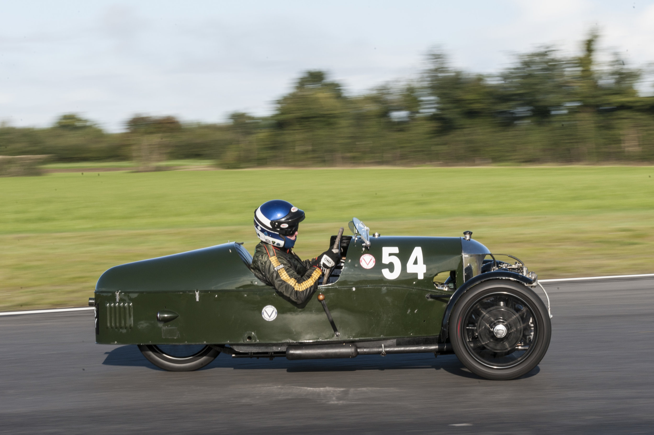 Edwards in the Morgan Aero Supersports on his way to 6th place and victory in the 2017 ODM Awards:  Peter McFadyen