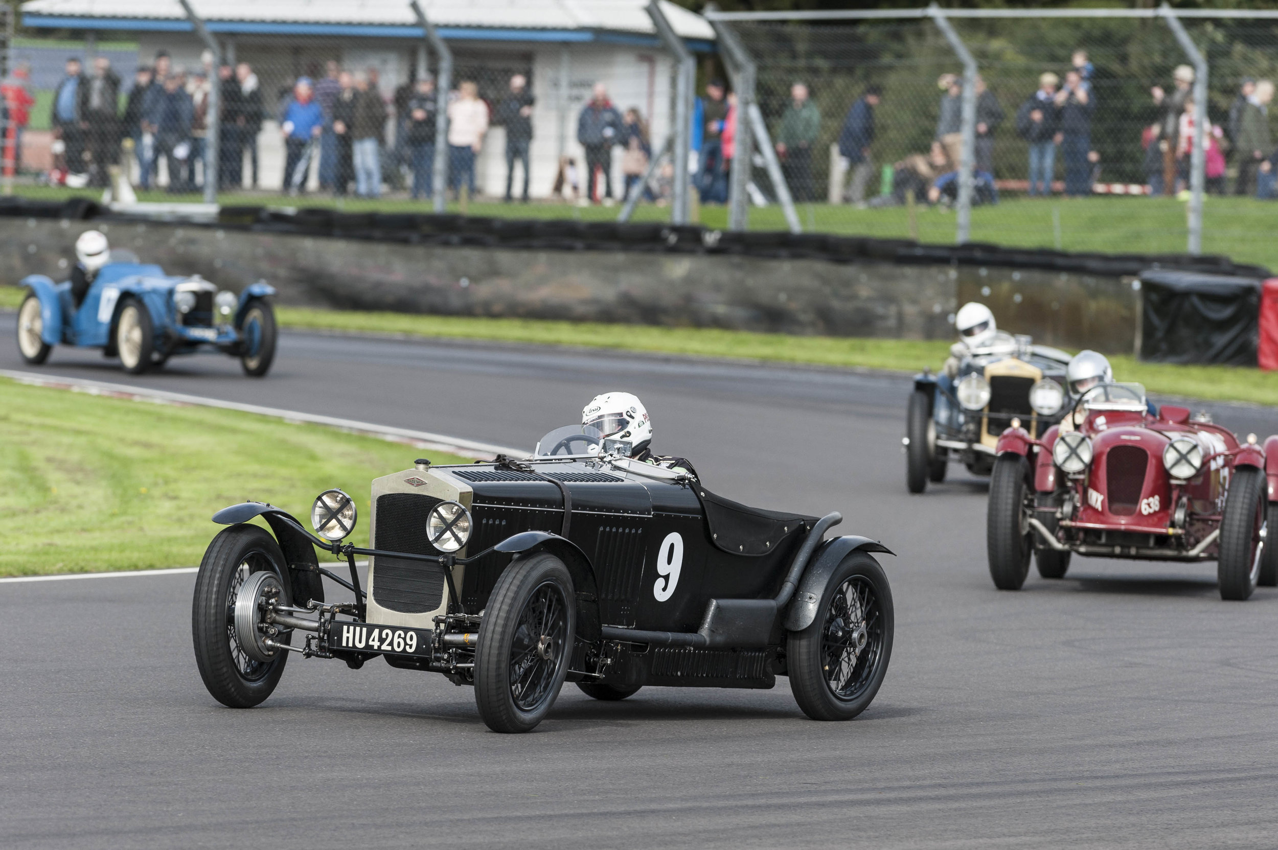 Patrick BE leading Gillies, Williams and Kneller:  Peter McFadyen