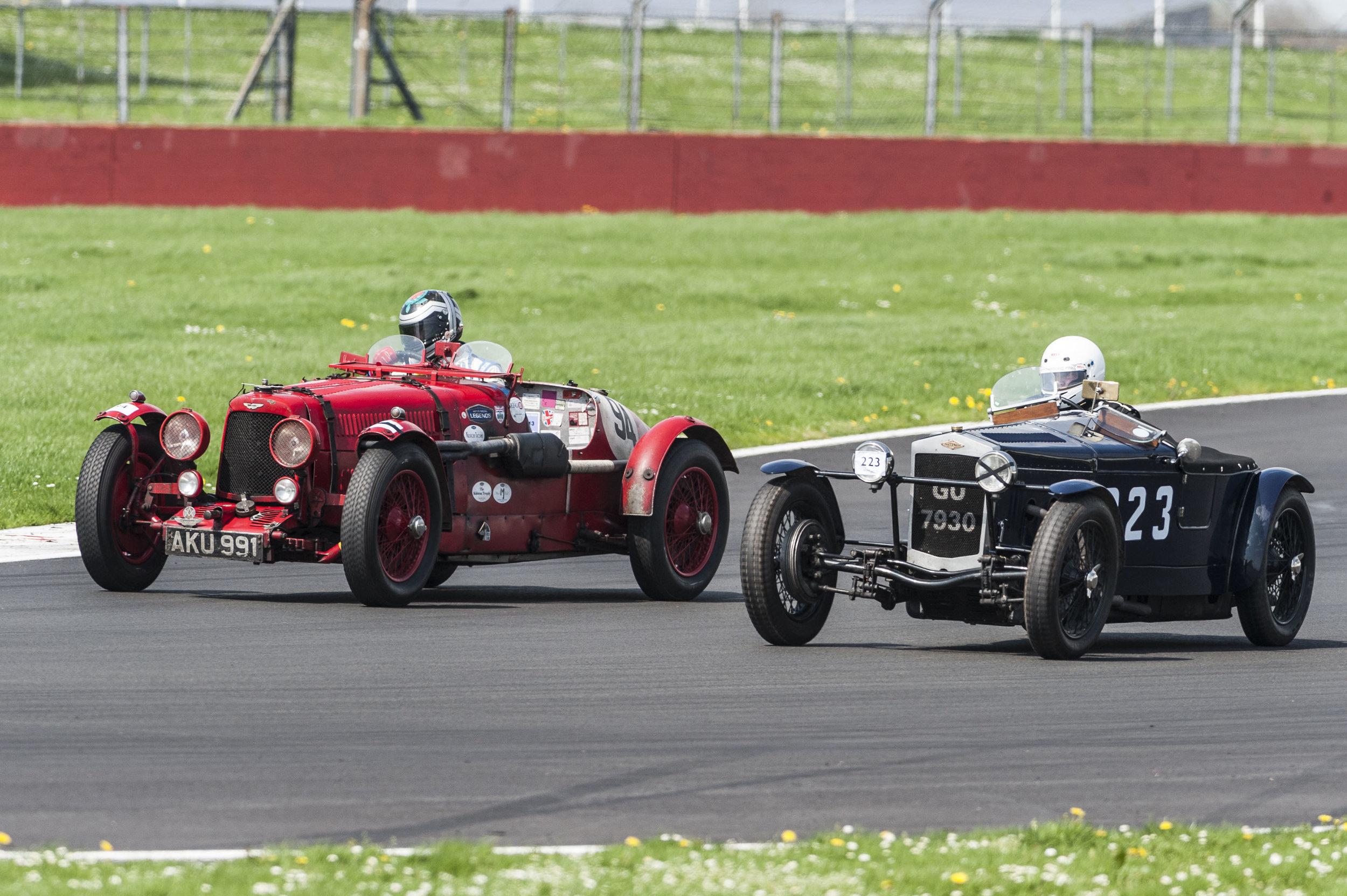 Bradley and Monro ran another close race:  Peter McFadyen