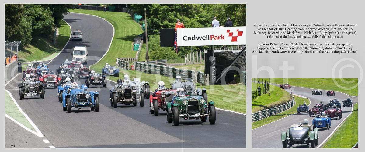 Sample page from Cadwell Park
