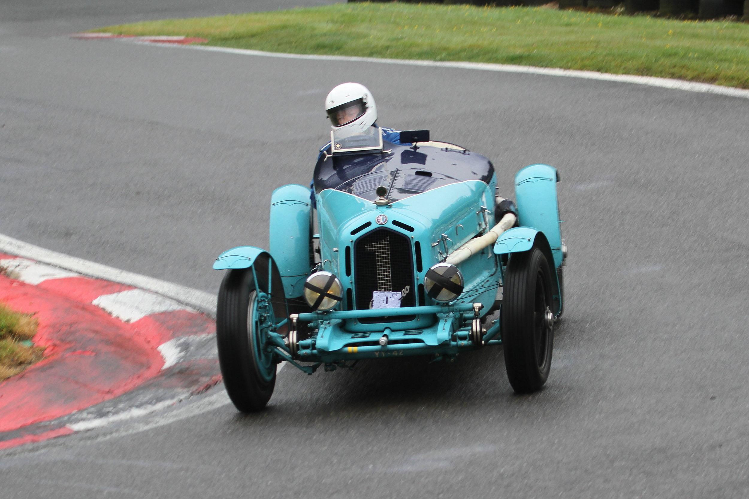 Race winner Mann (Alfa Monza): Stefanie Broch