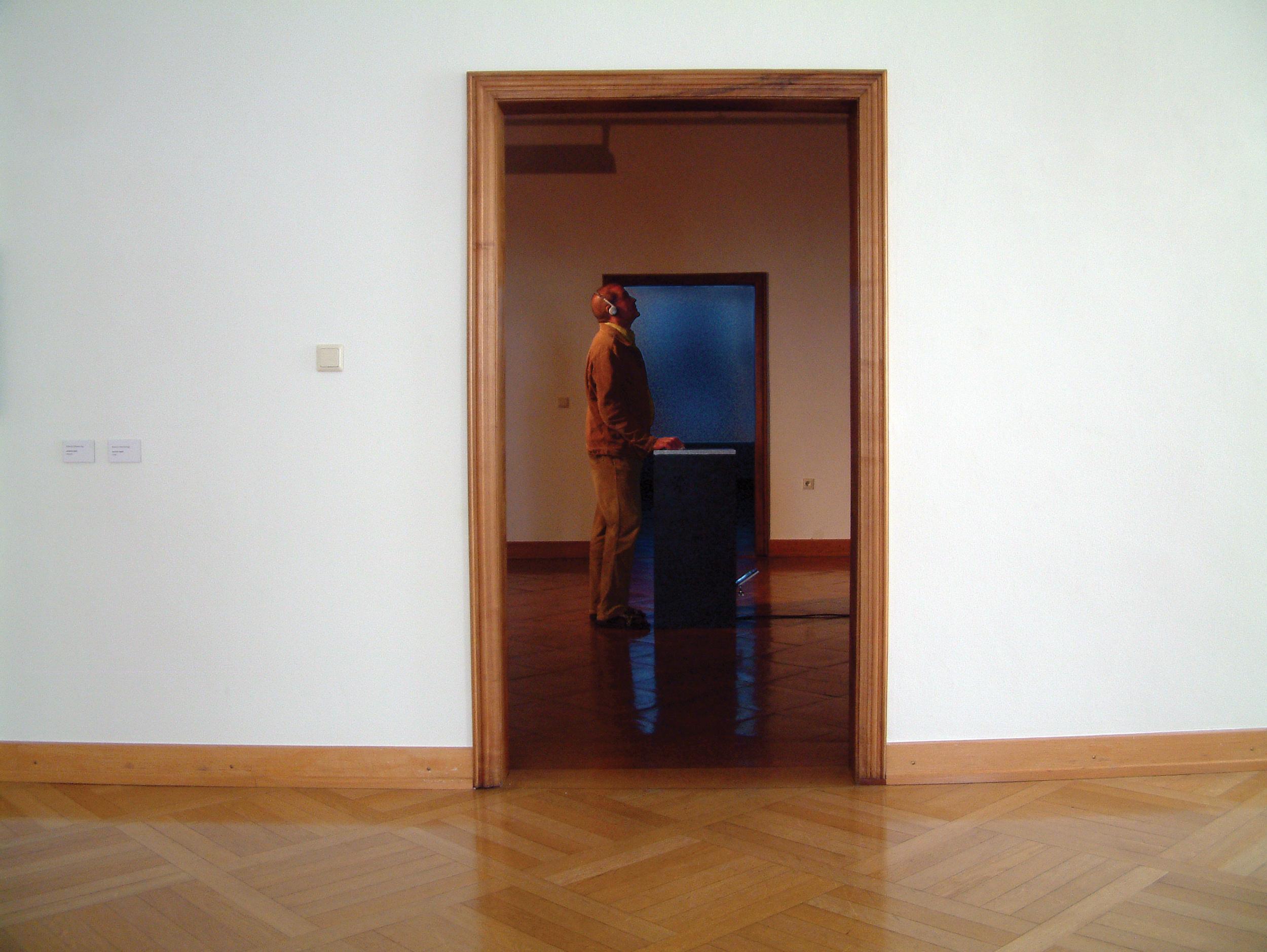 PLAYING GOD,  interactive database movie, sound  , 6collabor8, Palais Liechtenstein, Feldkirch, Austria, 2007