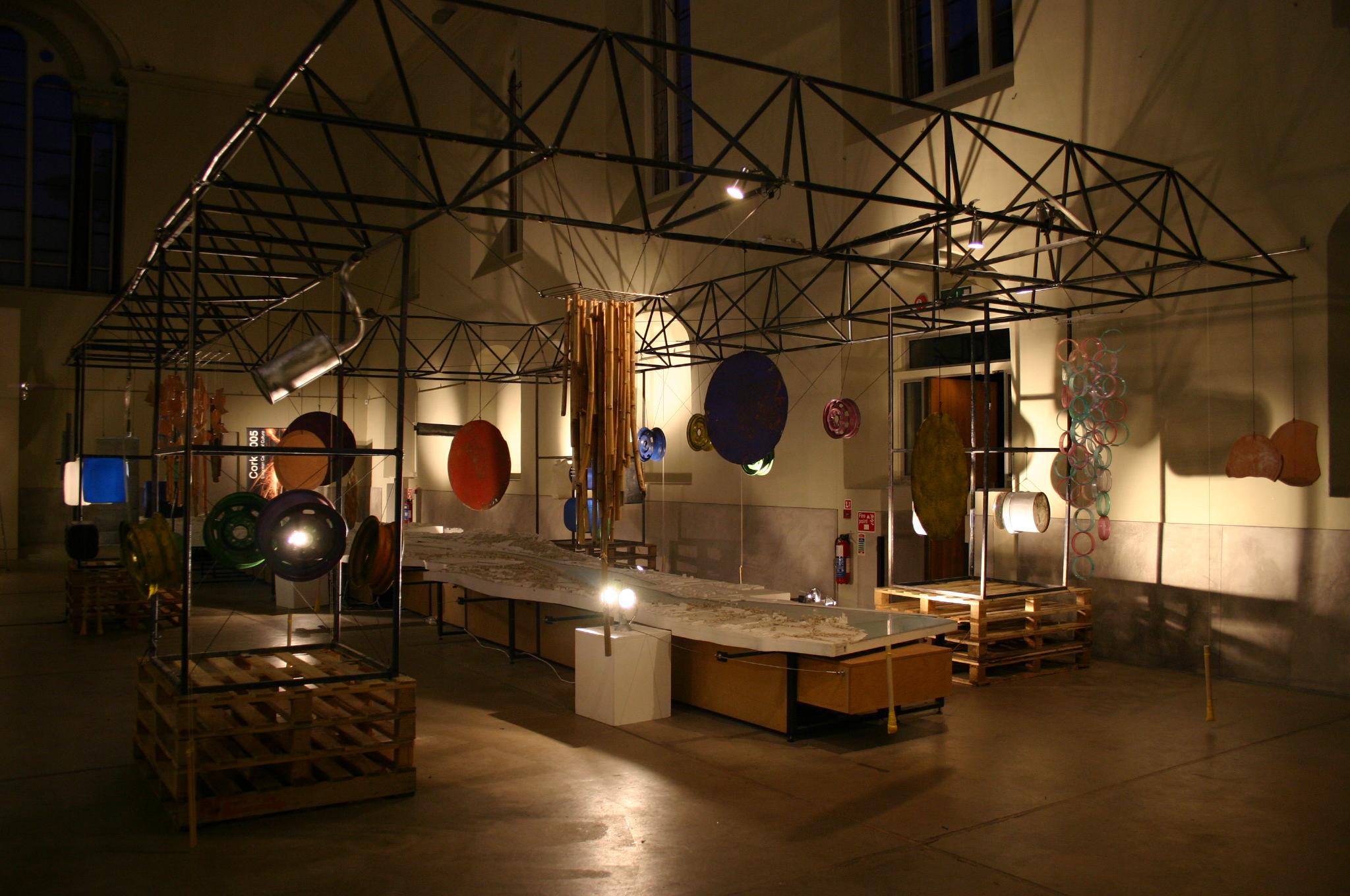 RE:PUBLIC,  interactive installation for Cork Capital of Culture  , Cork Vision Centre, Cork, Ireland, October 2005