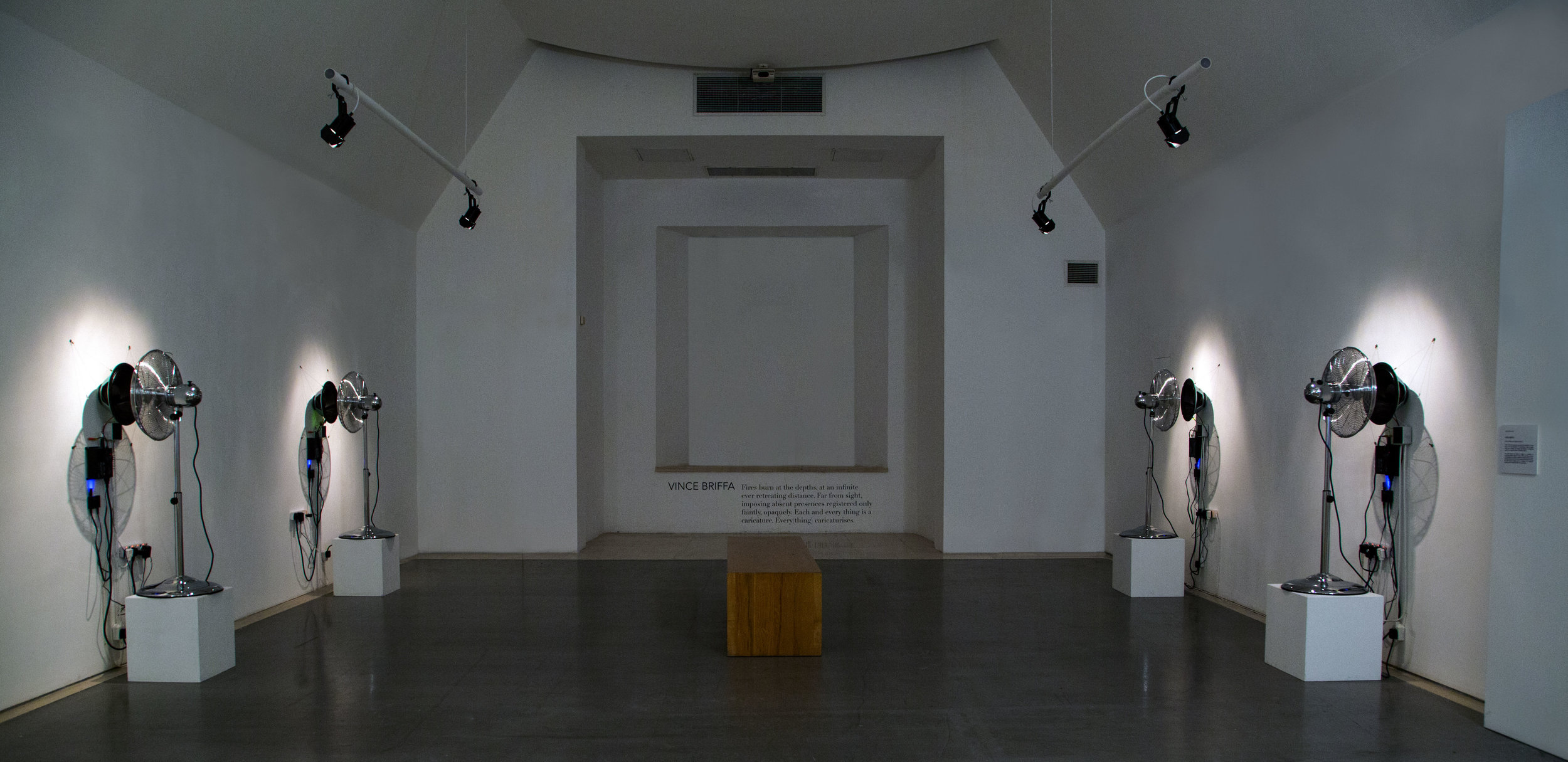 FOMM IR-RIH,  Interactive sound and wind sculpture , Metafourisms exhibition, Spazju Kreattiv, Valletta, 2018