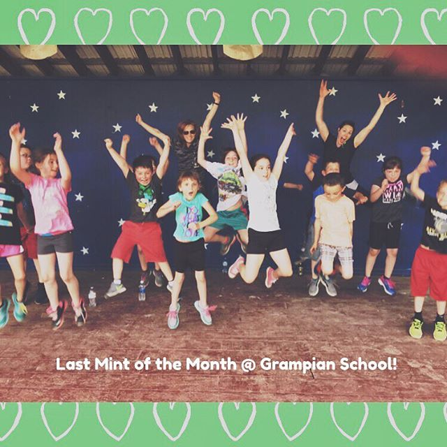 #mintofthemonth I had the most amazing time teaching these kids about how to be healthy, fit and strong. Today was our last 'Mint of the Month' at #Grampianschool  and I will miss our monthly adventures! A big THANK YOU to Mrs. Bilger @lvbilg for allowing me to be apart of her amazing classroom! #fitkids #mintcrew #healthyhappyactive