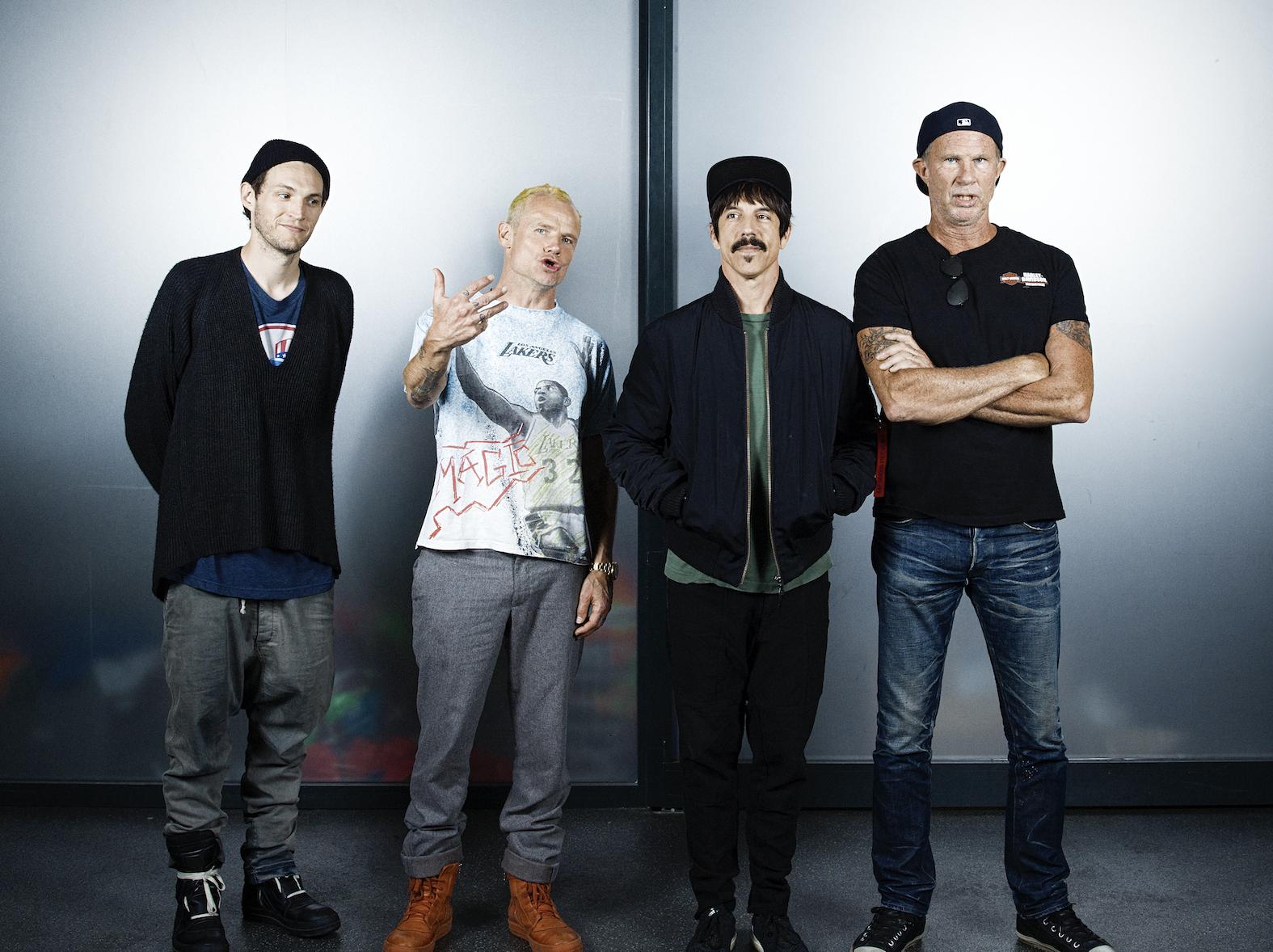 The Red Hot Chili Peppers - Portrait par Julie Christine Krøvel