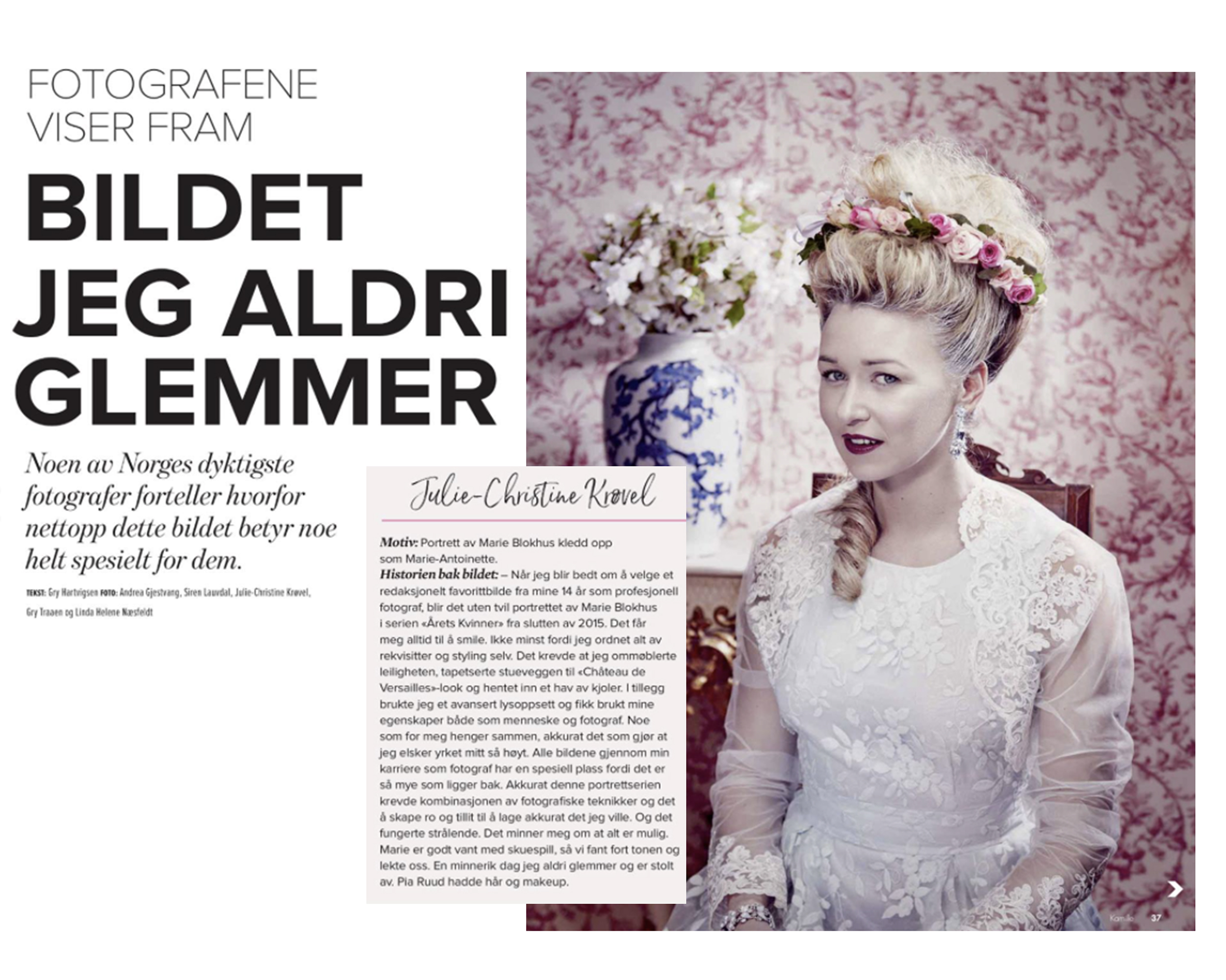 Cinq photographes norvégiennes
