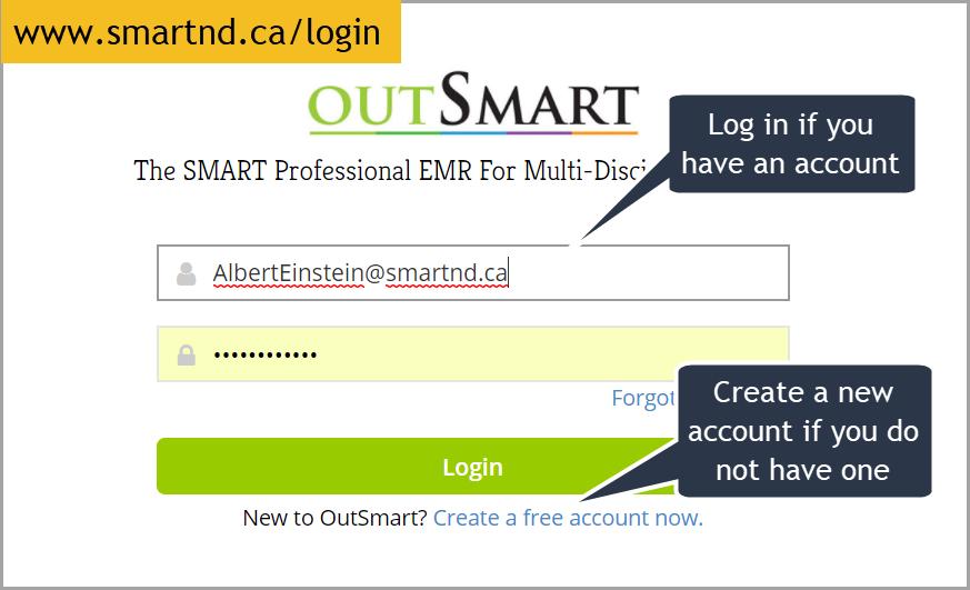 Login or Create an account.