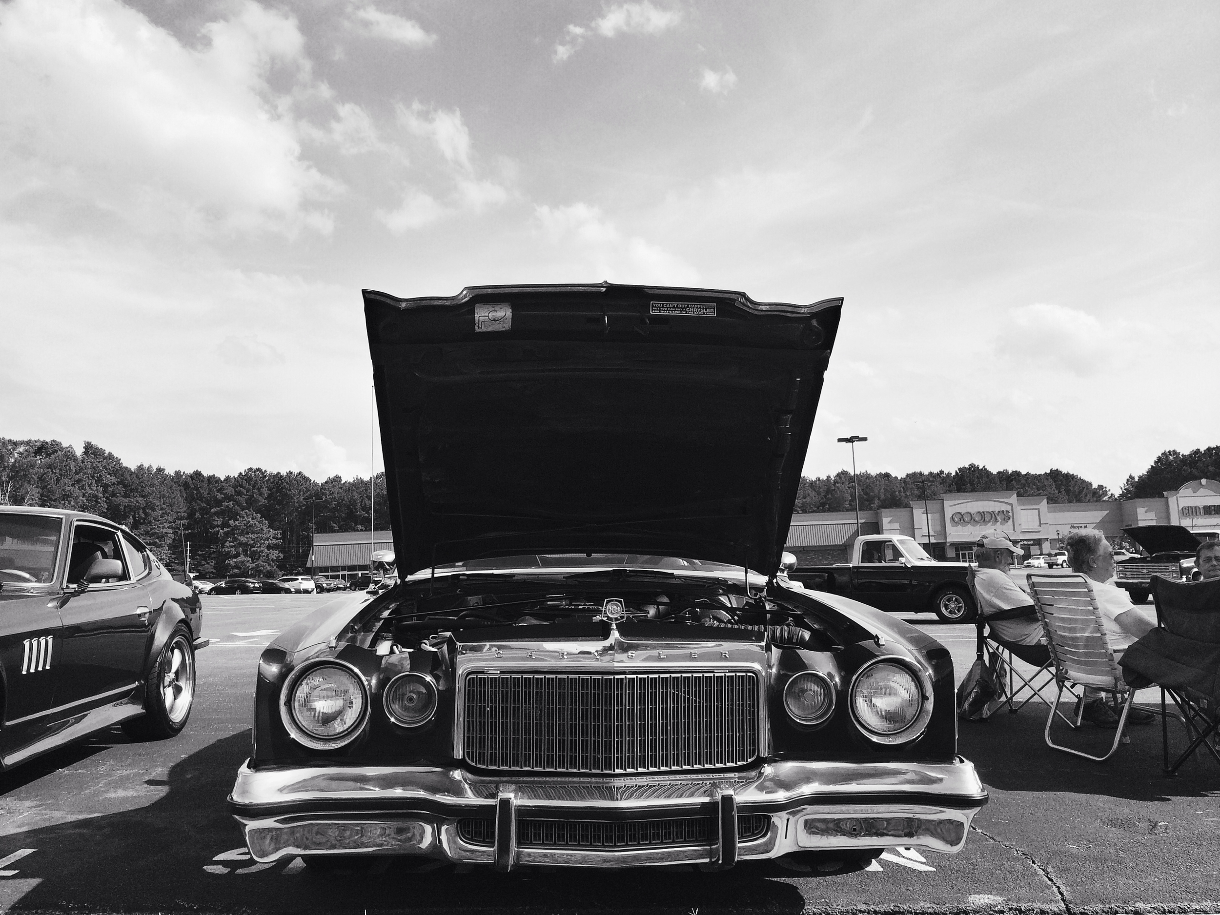 Classic cars exposed every Friday night in the Wendy's parking lot