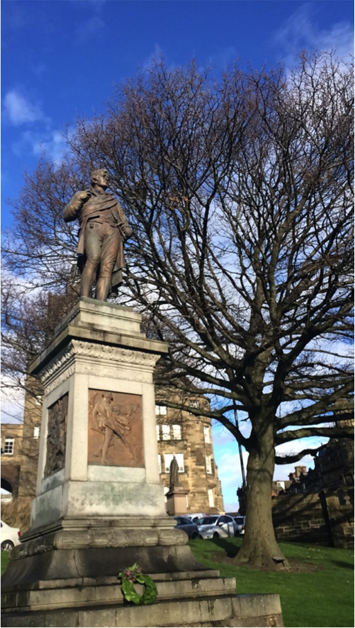 Robert Burns' Statue, Stirling