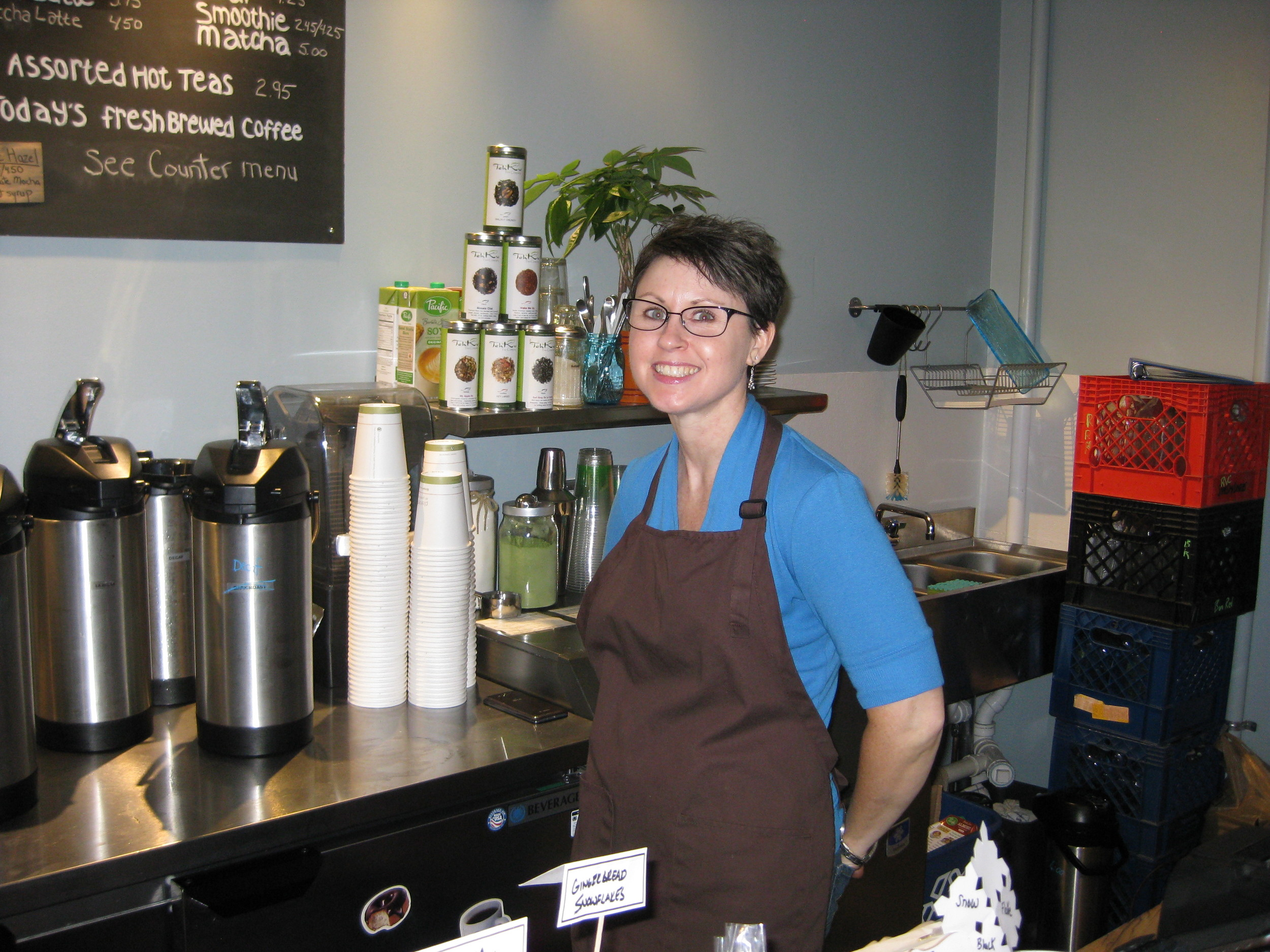 Christie Bruffy, owner of Highline Coffee