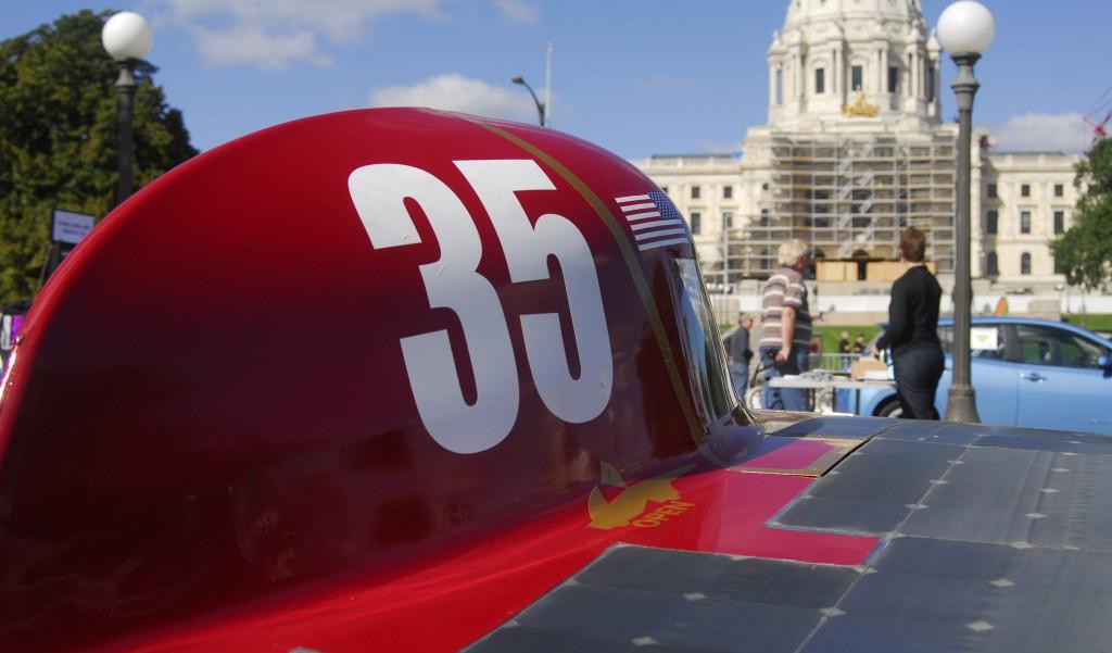 Centaurus III at the Minnesota State Capitol Building.