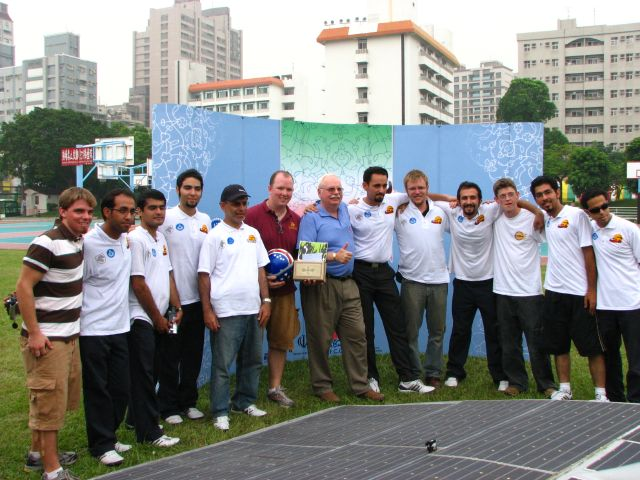 A group picture with the Iranian team.