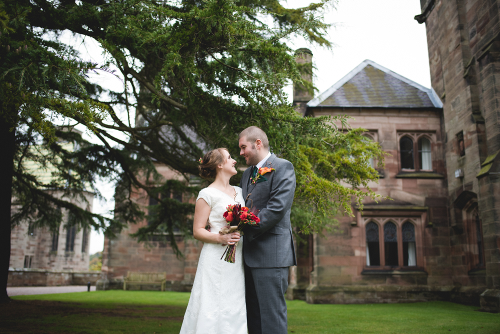 Alton castle wedding
