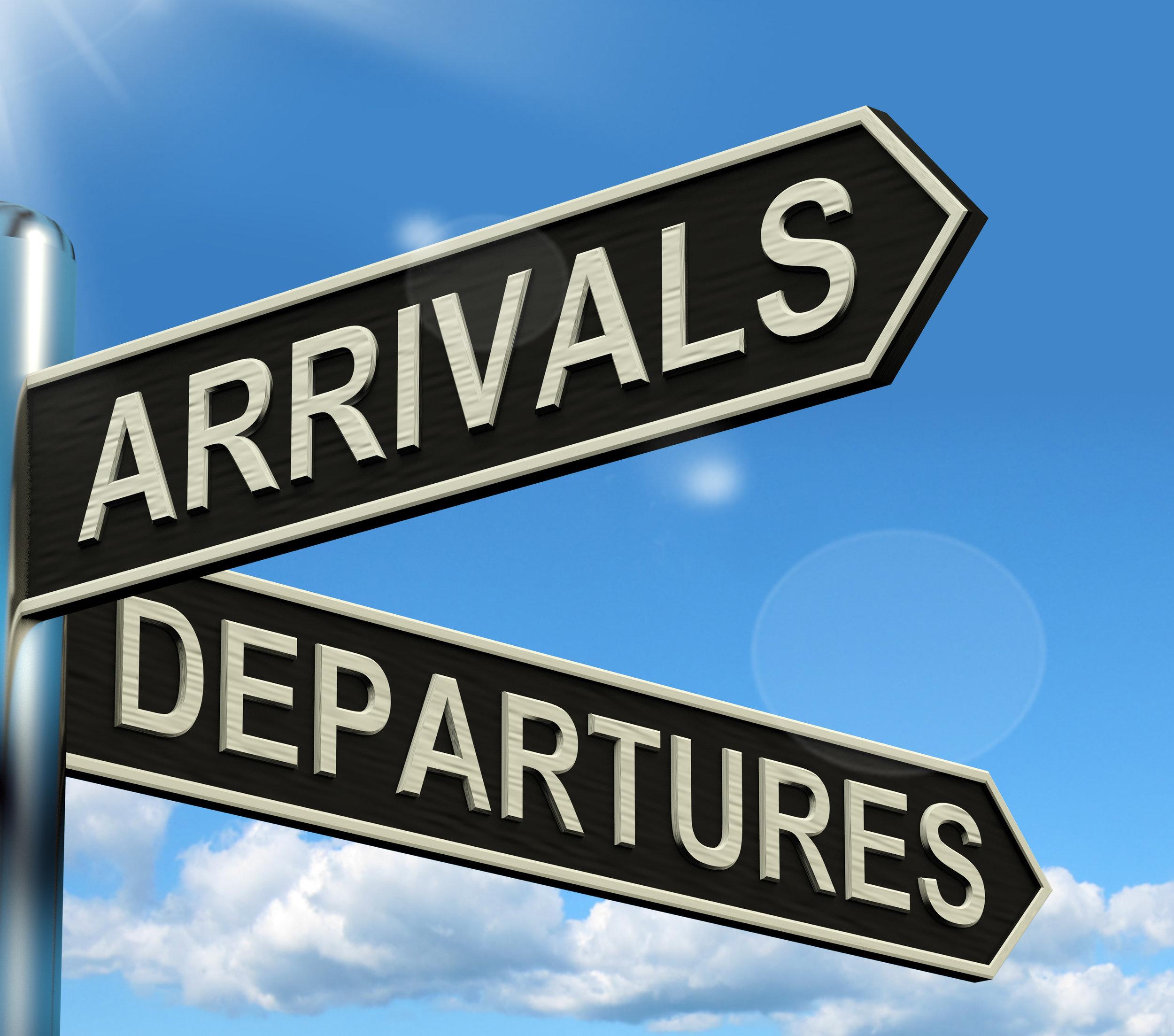 Arrivals Departures International Medical Travel