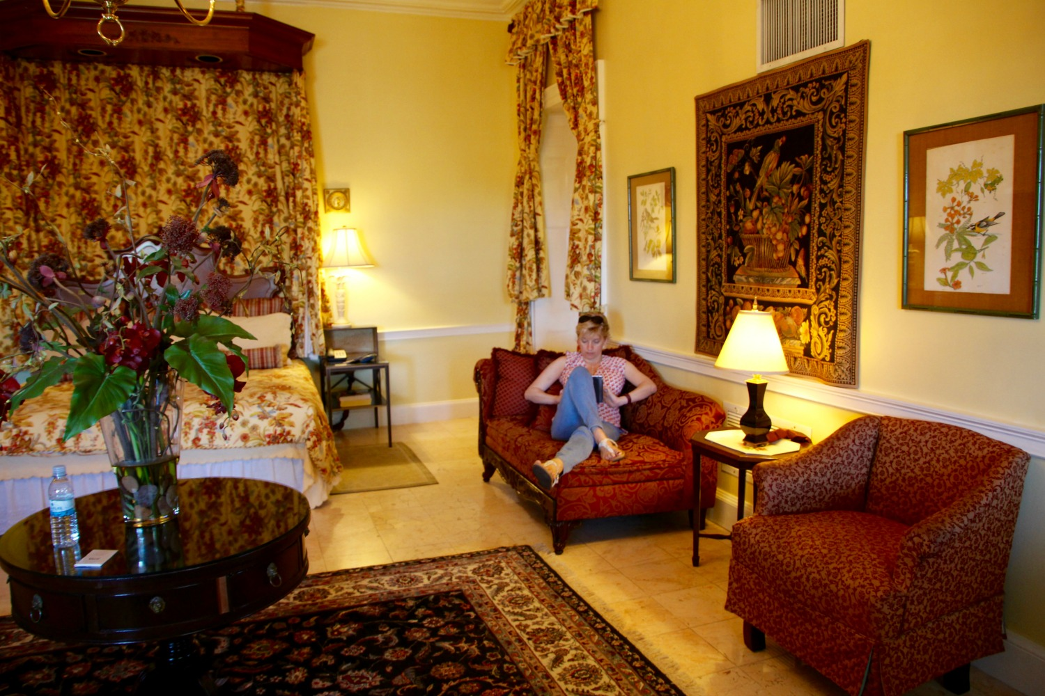 The Baillou Suite at The GreyCliff Hotel