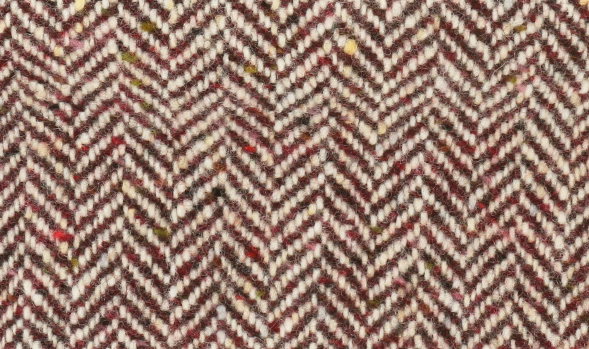 Red-Herringbone-Tweed-hata-donegal
