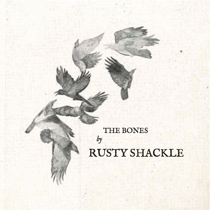 Artwork for Rusty Shackle's album cover and sleeve. Art direction by Liam Collins