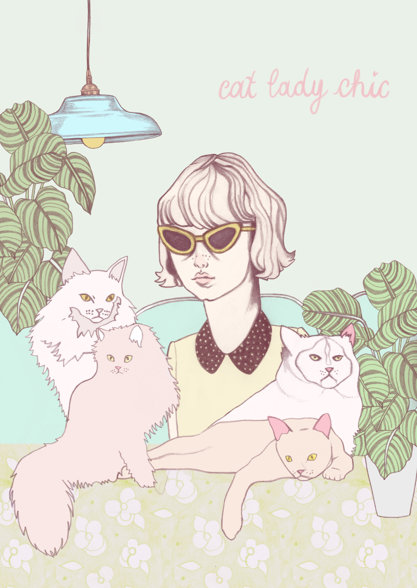 Cat lady chic card2.jpg