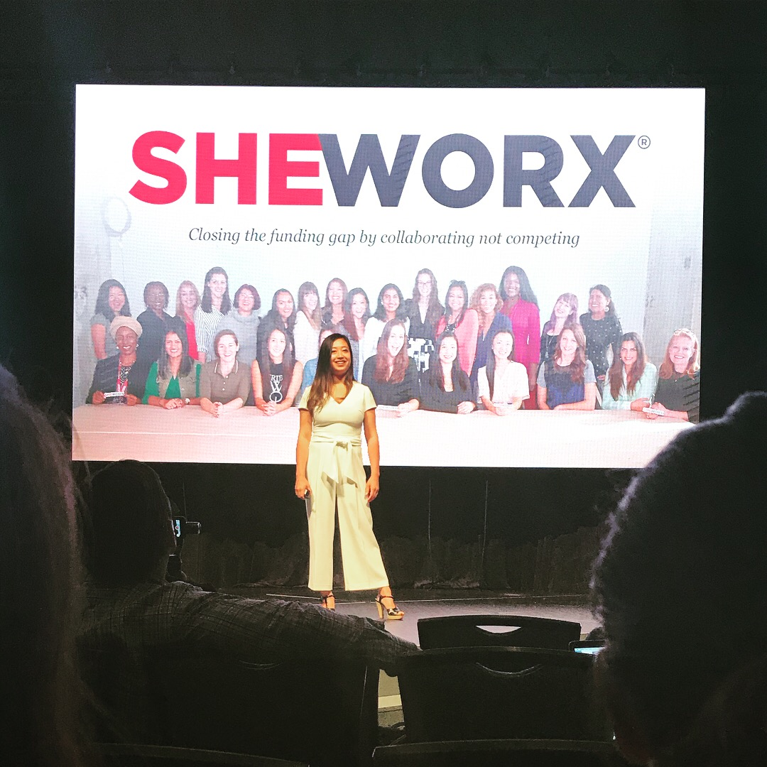 Lisa Wang of SheWorx presents at Dig South on Enoughness.