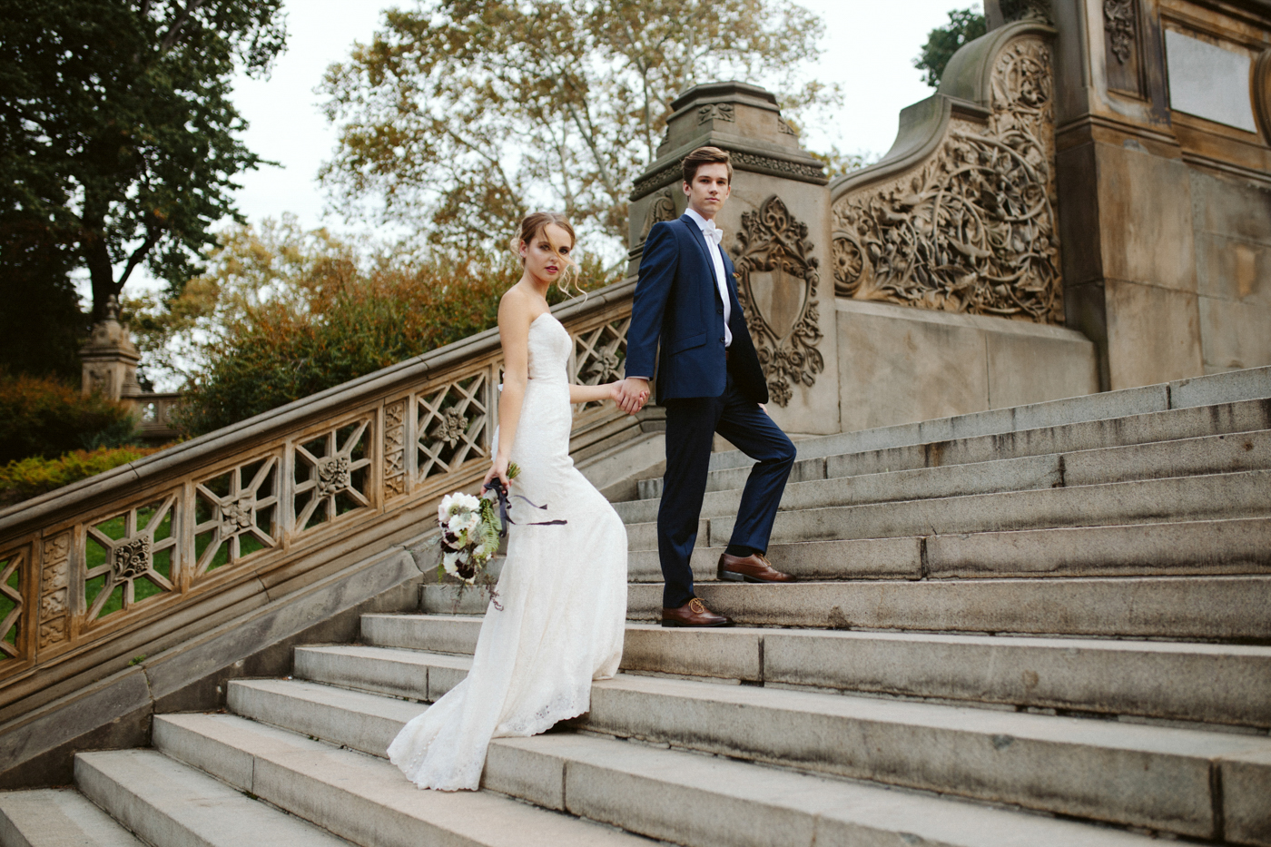 NYC New York City Elopement Photography Central Park Fine Art Destination Photographer