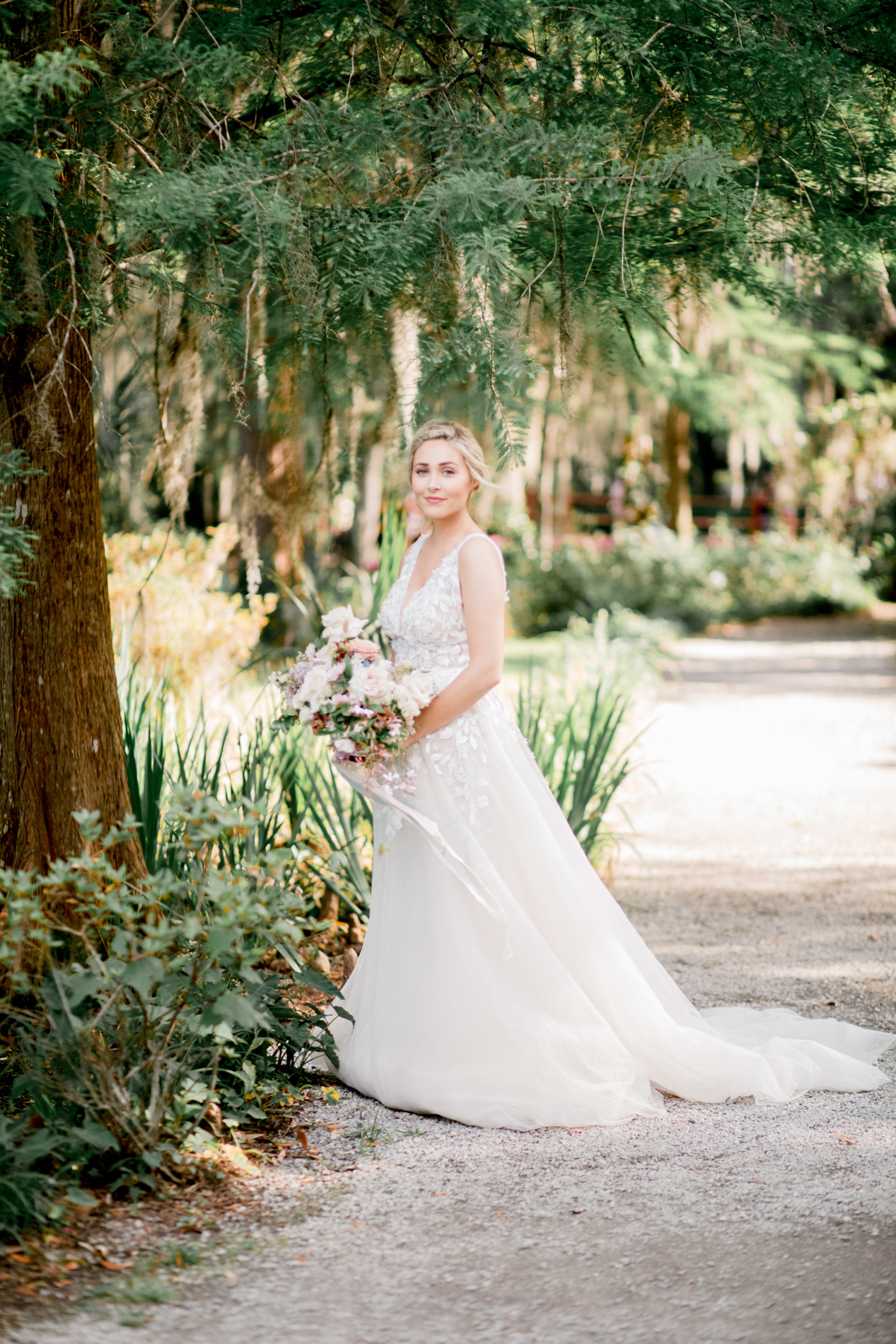 Magnolia Plantation is truly something out of a novel. The grounds where bursting with color on this warm afternoon. The Spanish moss cascaded in the light creating a painterly backdrop.