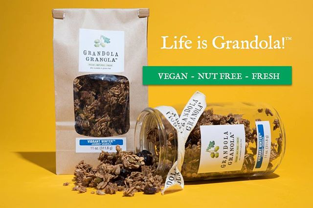 So happy to partner with @grandolagranola Check out the new online shop at grandolagranola.com to place your clustered Granola order. Our personal fave is Ella's Favorite. You can also place a full grocery order from Grandola Granola and other small batch/local artisans @ohiovalleyfood Mad Photo props to @annettenavarro1 on this one!😍