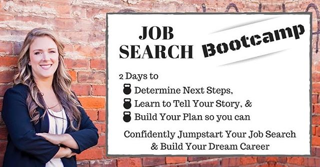 So happy to be partnering with @kristenzavo , Career Coach and bestselling author of Job Joy. This will be a two day Bootcamp to get you job search ready along with headshots by the Unbridled Studio team. Check out the link in our bio for more info.👆🏿👆🏻
