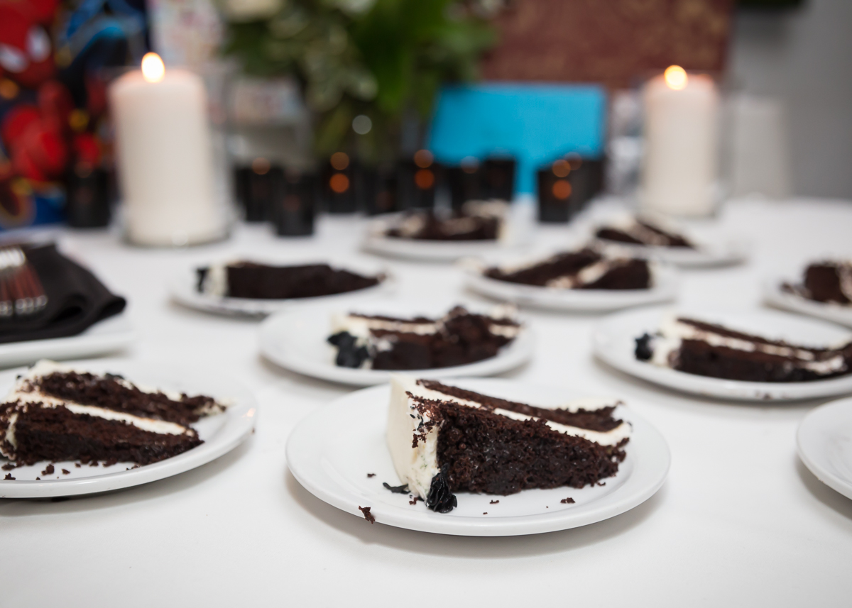Delcious birthday cake
