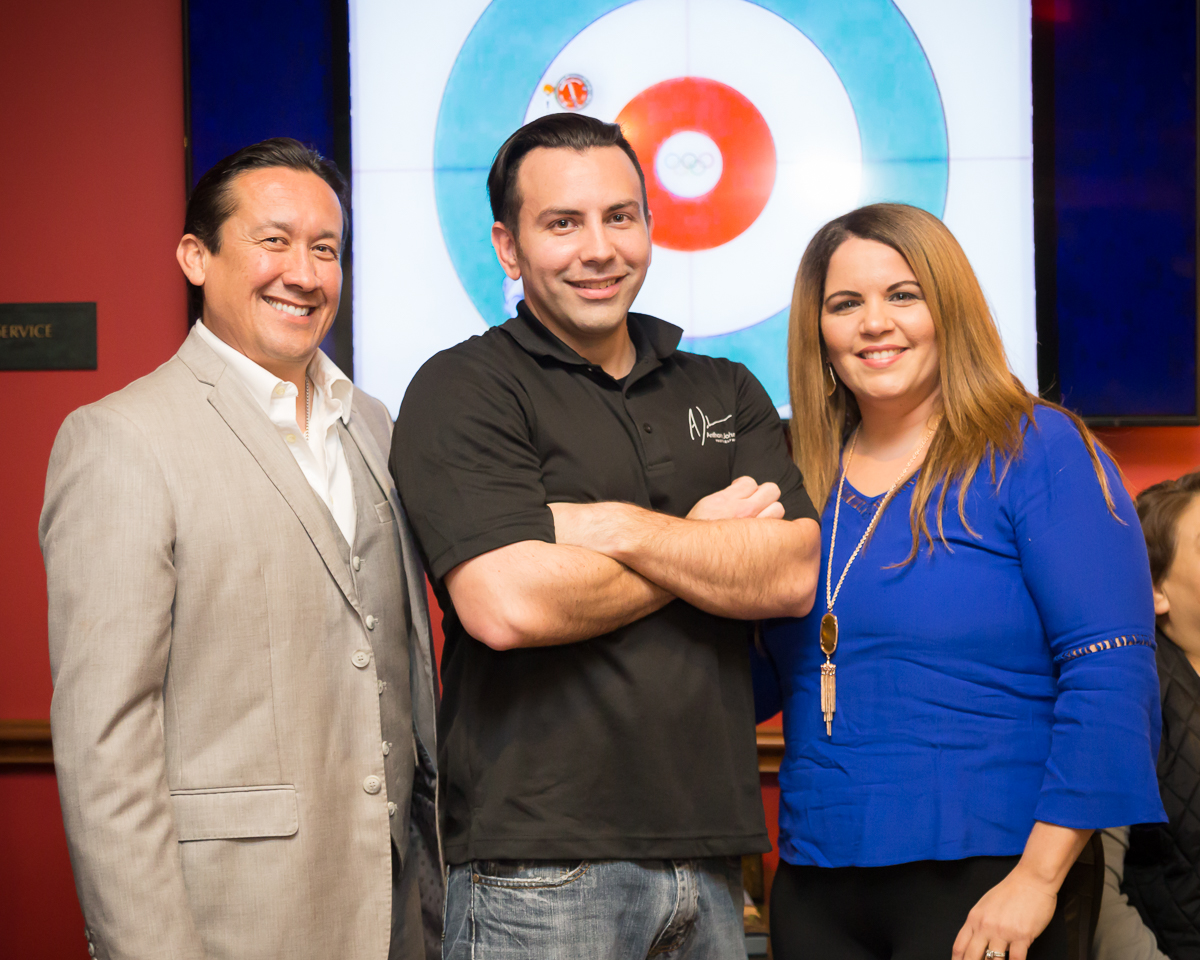 (left) CEO of KLLR Solutions: Luis Rodriguez / (mid) Anthony Johnson / (right) Jessica Campos