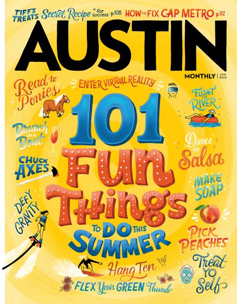 Austin Monthly June 2018 cover
