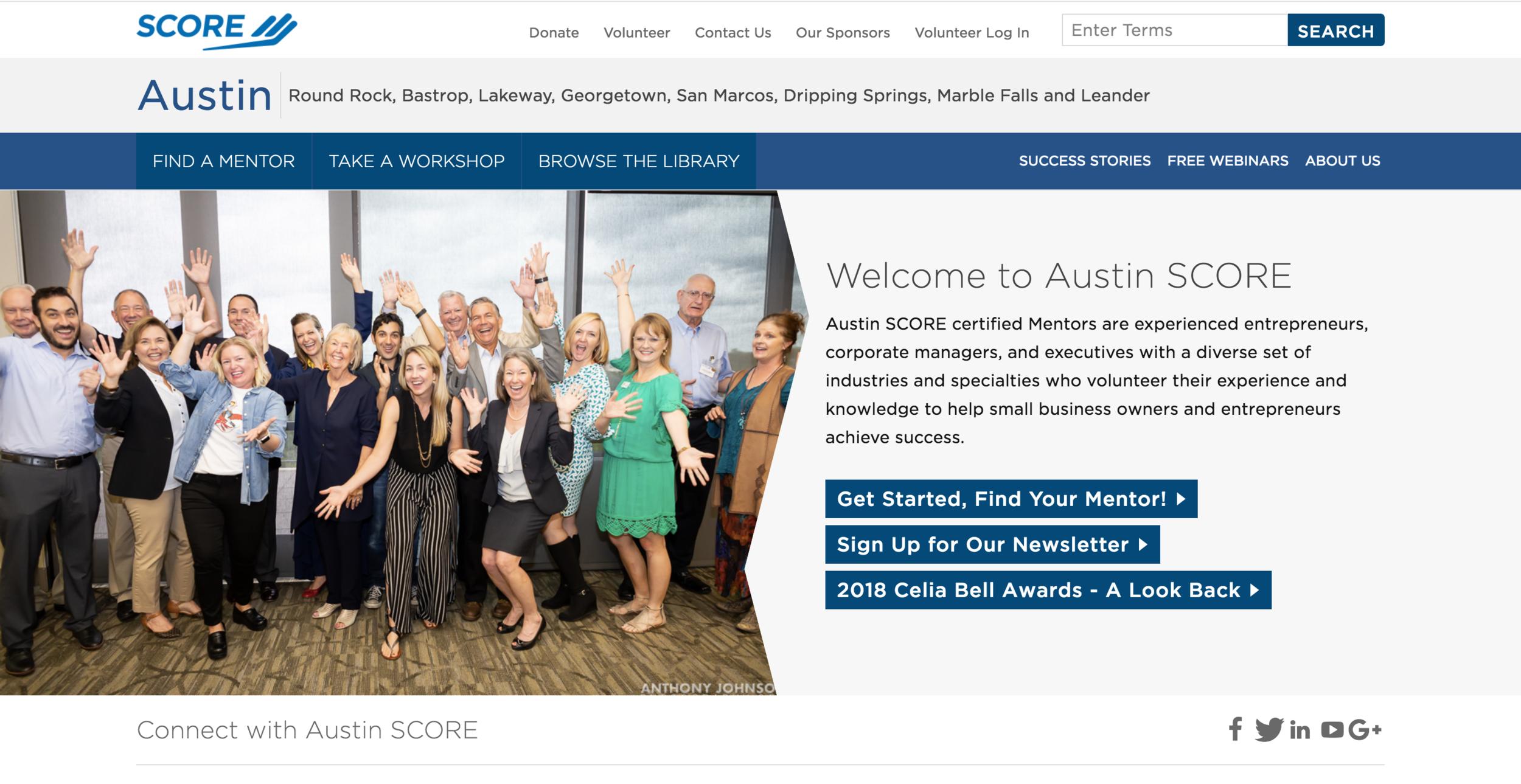 Score Austin Awards