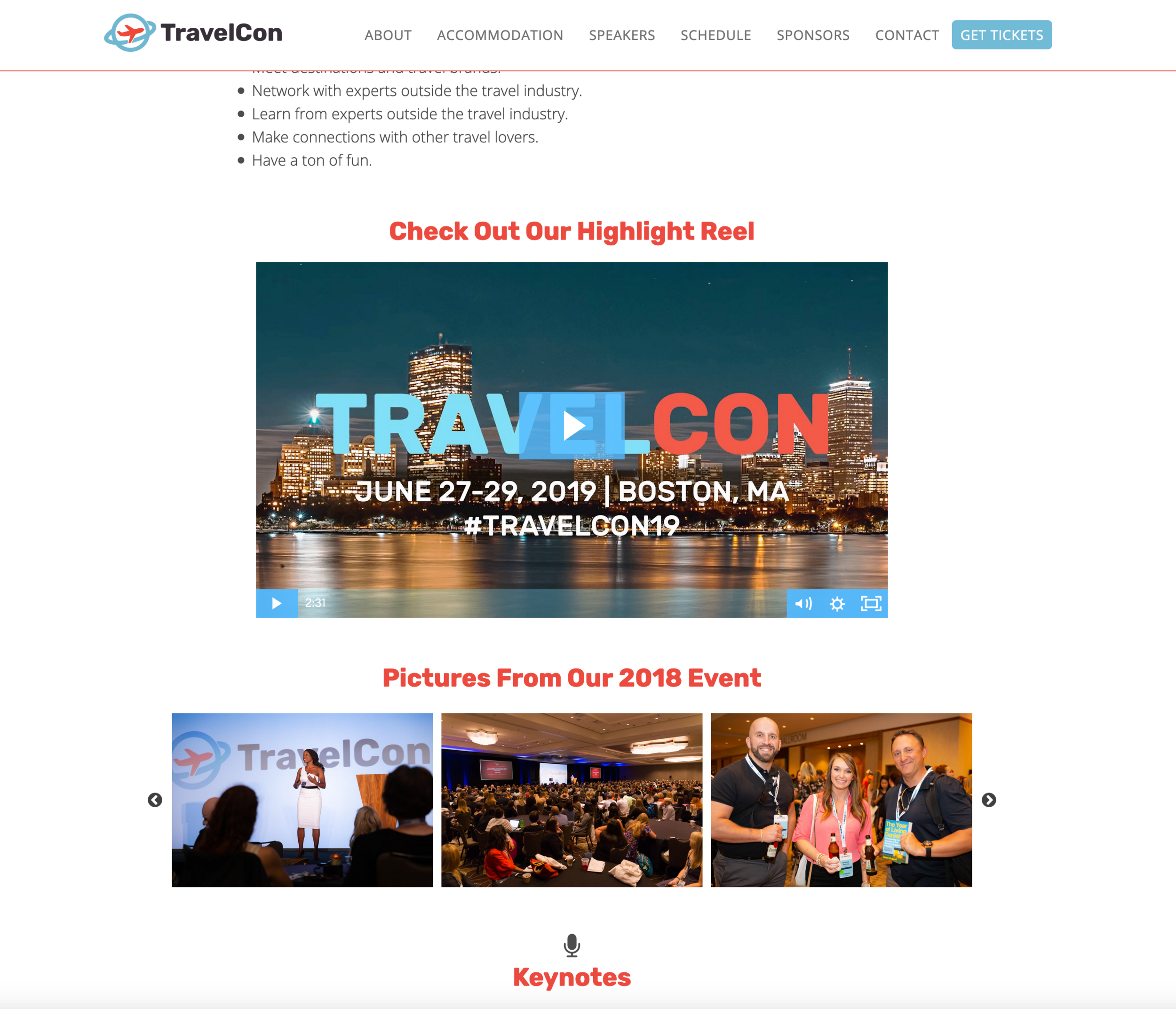 TravelCon Promotions