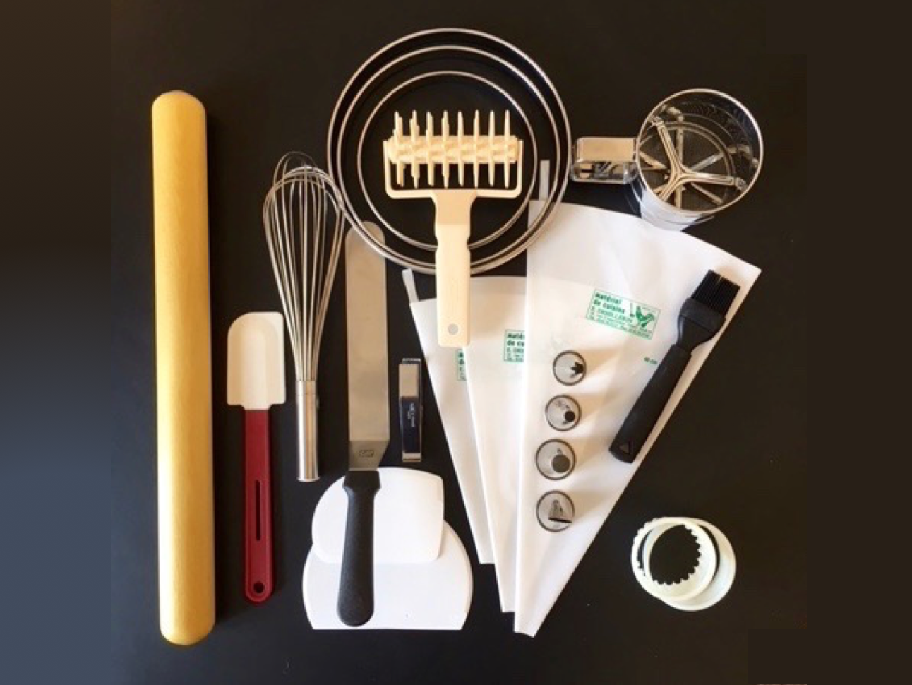 ProfessionalPastryToolkit - Everything you need to start cooking like a professional pastry chefJust €350