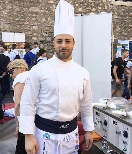 Chef Natale Alessio Fazio - Chef of L'Antica Ruota restaurant in Capo d'Orlando, Sicily