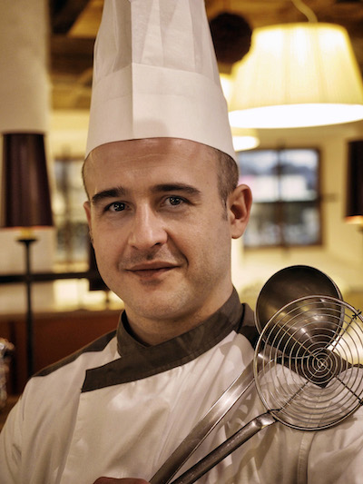 Chef Sabino Fortunato - Michelin starred Chef of Restaurant Il Gallo Cedrone🇮🇹