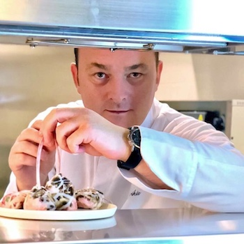Chef Elias Tsikrikis - Executive Chef of Mykonos Riviera Hotel in Mykonos, Greece