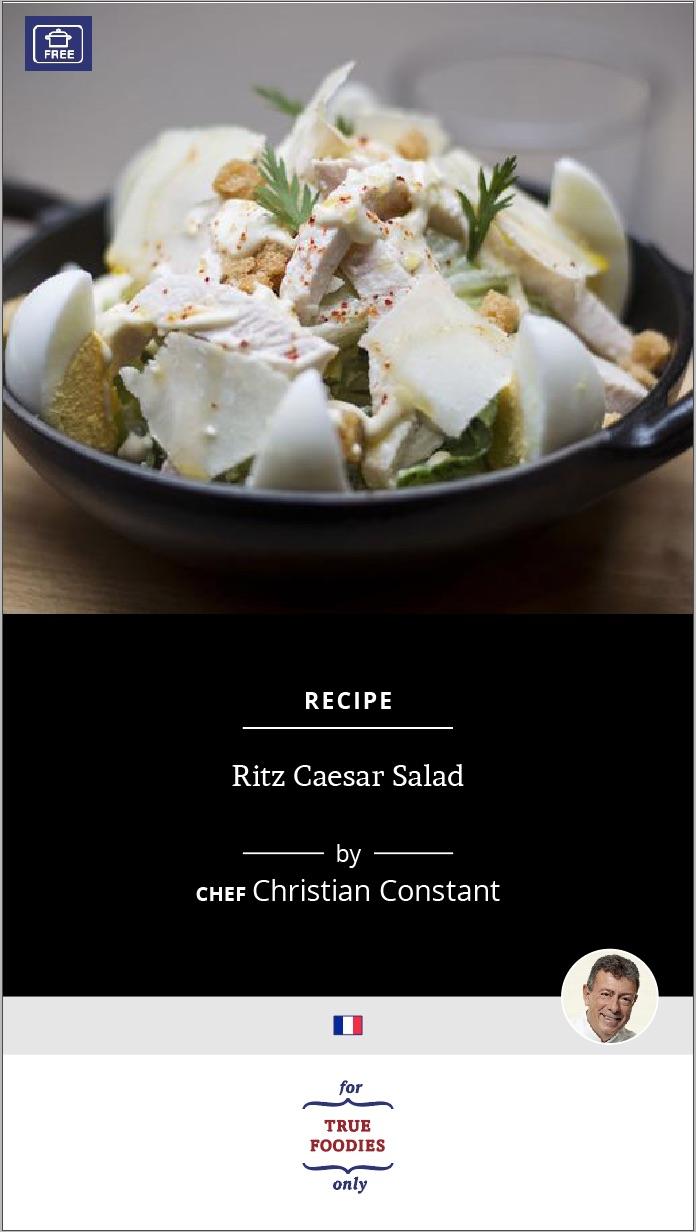 Ritz Caesar Salad