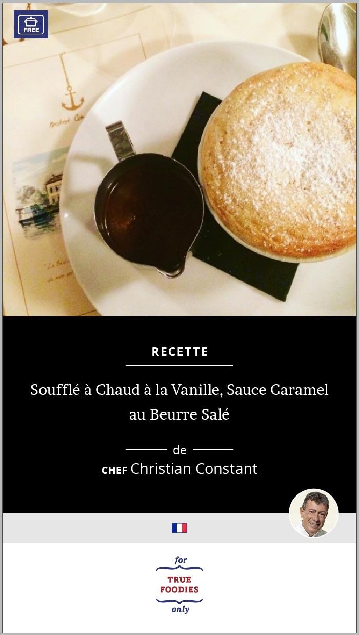 Souffle a Chaud a la Vanille