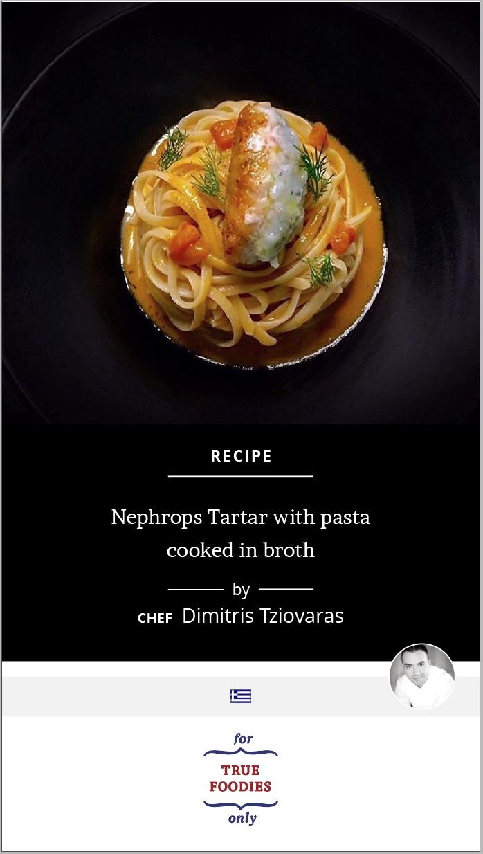 Nephrops Tartar