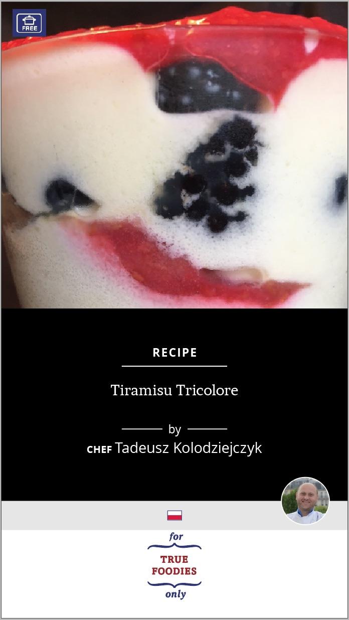 Tiramisu Tricolore