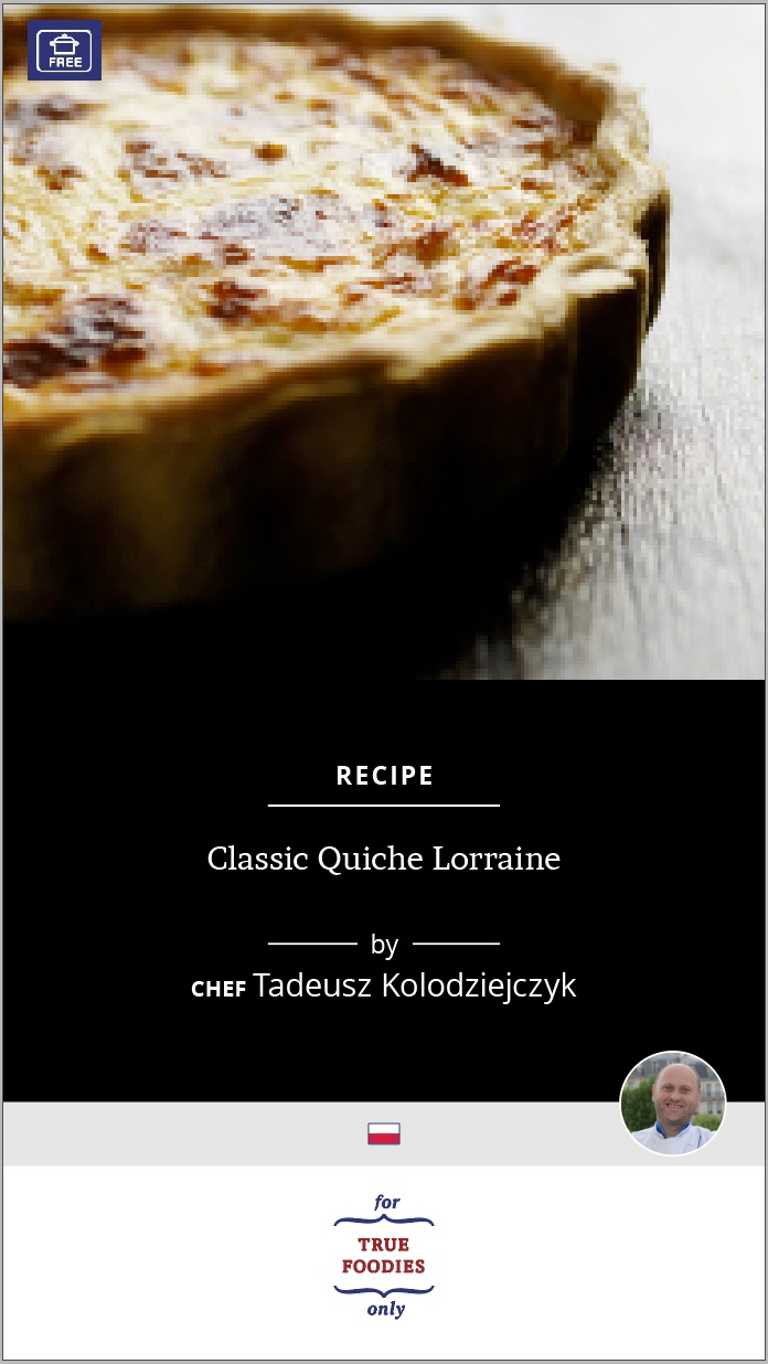 Classic Quiche Lorraine
