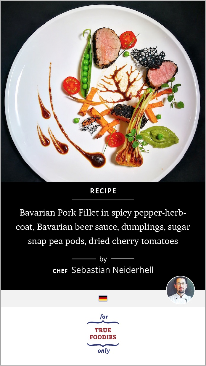 Bavarian Pork Fillet