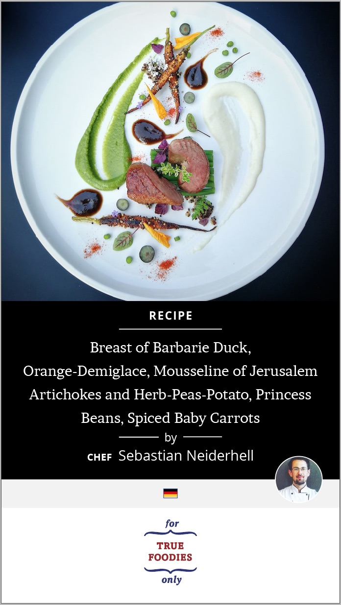 Breast of Barbarie Duck