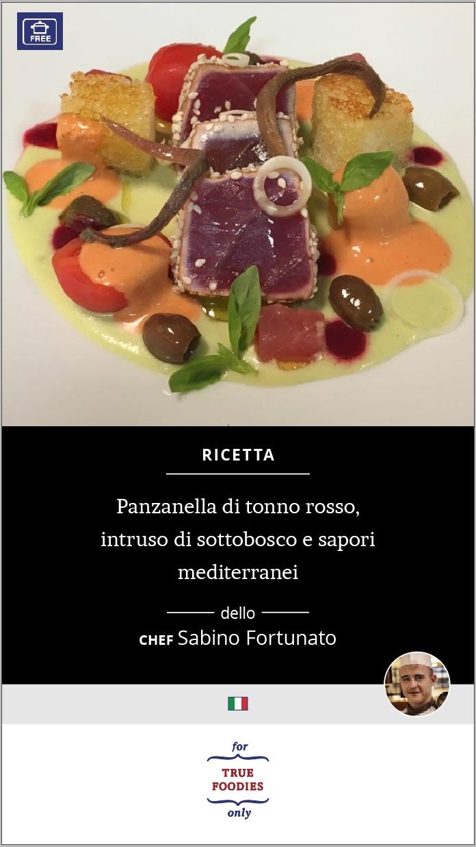Panzanella di tonno rosso
