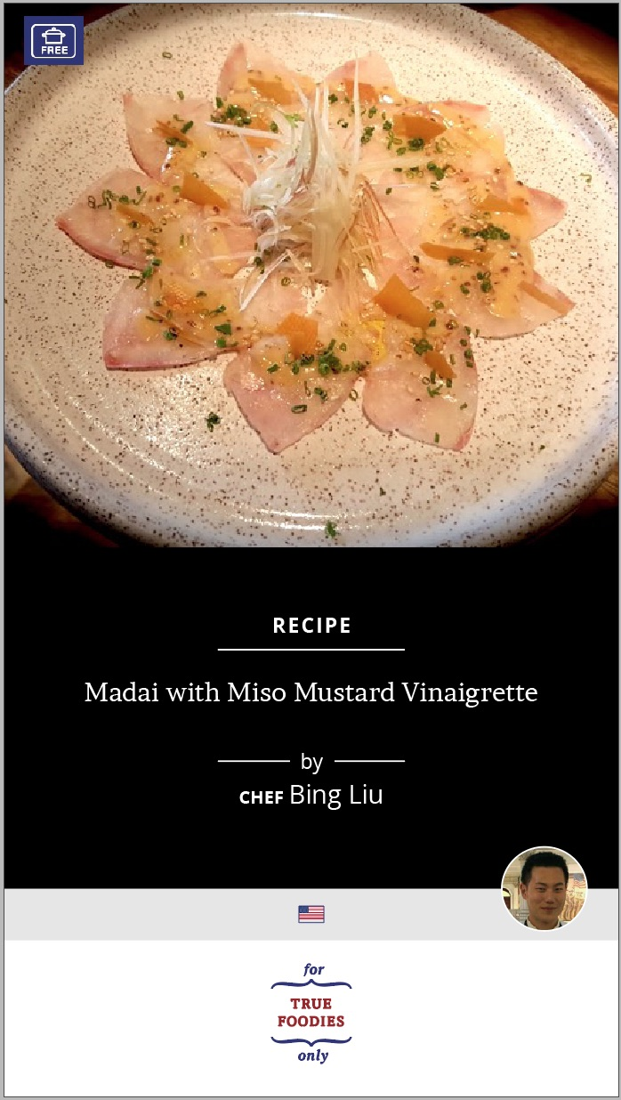 Made with Miso Mustard Vinaigrette